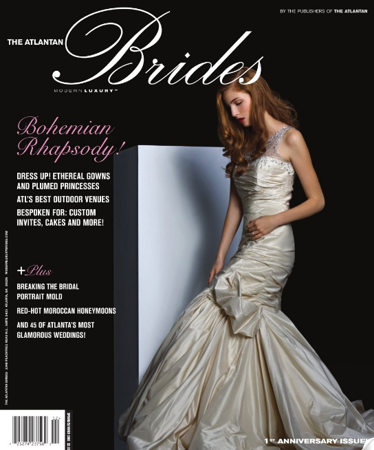 The Atlantan Brides Anniversary issue Modern Luxury